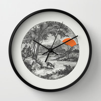 Another Day Wall Clock by Zeke Tucker