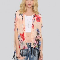 Wild Flower Gypsy Jacket