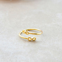 Double the Infinity - Gold | Shop Civilized