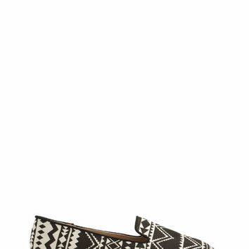 Astounding In Aztec Smoking Flats