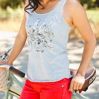 Poketo Zoo on Parade Tank - Women