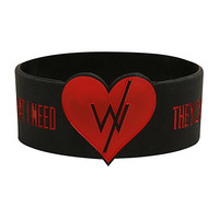 Sleeping With Sirens Love Is Forever Rubber Bracelet