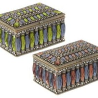 One Kings Lane - Three Hands - 2 Asst. Jeweled Boxes