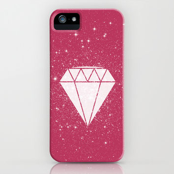 Space Diamond iPhone & iPod Case by Terry Irwin | Society6