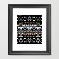 Native Rug No.3 Framed Art Print by Romi Vega | Society6