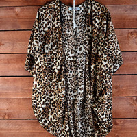 Leopard Print Cardigan from Music City Pretty Boutique
