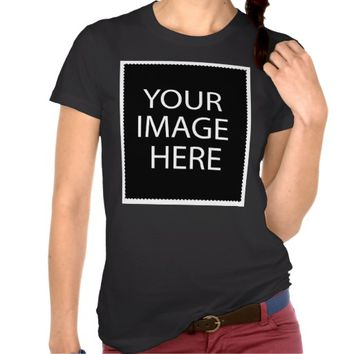 Design Your Own Custom Women's American Apparel Shirt