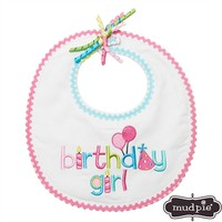 Mud Pie® Infant Girl Birthday Girl Bib at Von Maur