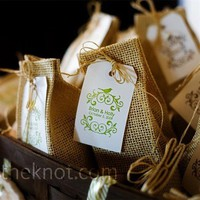 Real Weddings - An Outdoor Wedding in McKinney, TX - Seed Packet Favors
