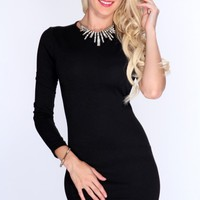 Black One Shoulder Sexy LBD