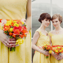 1950's style happy yellow dress Available in by happyyellowdress