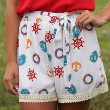 Nautical Life Shorts