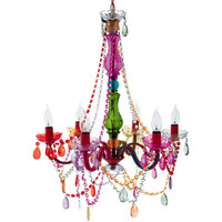 Gypsy Chandelier Multicolored