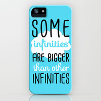 Some Infinities - The Fault In Our Stars iPhone & iPod Case by Tangerine-Tane