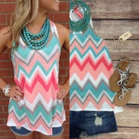 PEACHES AND CREAM TANK – LaRue Chic Boutique
