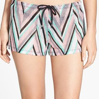 Becca 'Stay Connected' Chevron Cover-Up Shorts