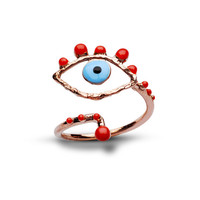 evil eye ring-free shipping