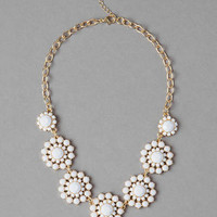 JESSUP FLORAL NECKLACE