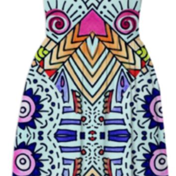 Fiesta Dress created by duckyb | Print All Over Me