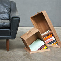 &amp;#8220;Hole In The Floor&amp;#8221; Bookcase by Raw Edges