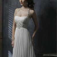 Halter or Strapless Chiffon Wedding Dress WGH020 -Shop offer 2012 wedding dresses,prom dresses,party dresses for girls on sale. #Category#