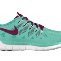 Nike Free 5.0 iD Custom Women's Running Shoes - Green