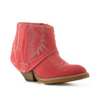 Obsession Rules Strobe Western Bootie