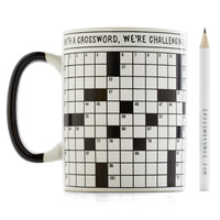 ModCloth Nifty Nerd A Way With Crosswords Mug