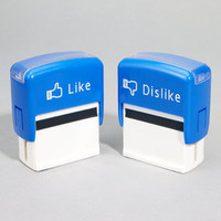 FredFlare.com - Like & Dislike Stamps - Set of 2 Novelty Stamps