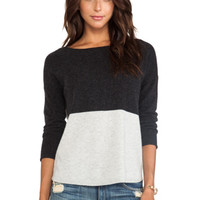 DUFFY Cashmere Sweater in Charcoal