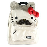 Hello Kitty Backpack with Ears - Mustache