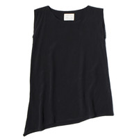 Josephine Tunic in Black Crepe