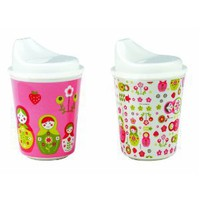 Sugarbooger Sippy Cups, Set of 2, Matryoshka Doll