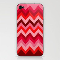 Chevron in a Rose Bush iPhone & iPod Skin by Romi Vega | Society6