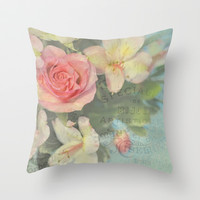 Hello Lovely One Throw Pillow by Lisa Argyropoulos | Society6