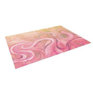 "Kess InHouse Mat Miller ""Cascade"" Indoor/Outdoor Floor Mat, 5-Feet by 7-Feet"