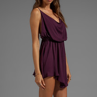 Indah Tahani Cocktail Dress in Purple