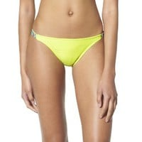 Xhilaration® Junior's Hipster Swim Bottom -Yellow