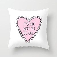 Okay Throw Pillow by hayimfabulous