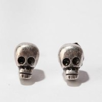 UrbanOutfitters.com > Day of the Dead Skull Post Earring