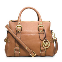 MICHAEL Michael Kors Small Lea Top-Zip Satchel
