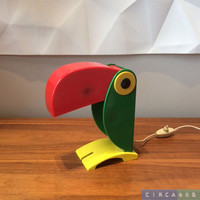 TOUCAN table/night light by Old Timer Ferrari, late 1960s