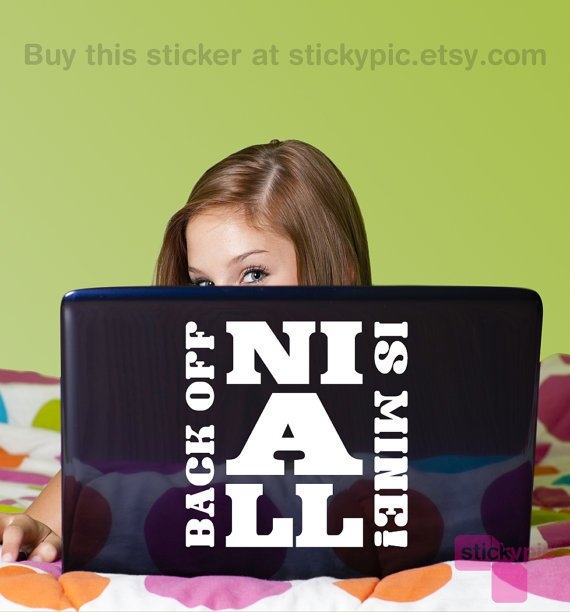 =>Niall Is Mine<= One Direction Laptop Decal by stickypic