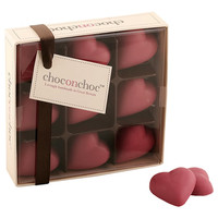 A Box of Pink Chocolate Hearts