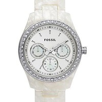 Fossil Mother Of Pearl Watch - Women&#x27;s Watches | Buckle