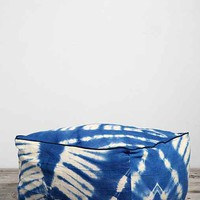HYM Salvage X Urban Renewal Mud Cloth Large Cube Pouf - Urban Outfitters
