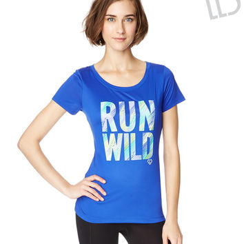 LLD Run Wild Graphic T