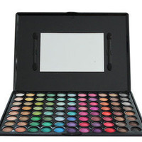 Portable 88 Warm Color Eye Shadow Makeup Palette Set | eBay