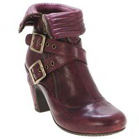 Miz Mooz Women&#x27;s Reed Ankle Boot in Burgundy