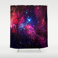 Galaxy! Shower Curtain by Matt Borchert